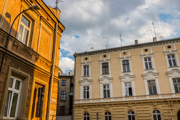 L'ancien quartier du ghetto Juif de Cracovie