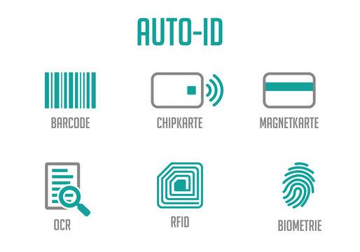 Icons Auto-ID Türkis