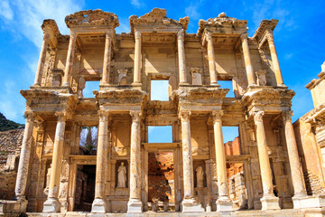 The ancient city of Ephesus in Turkey