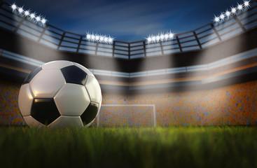 Fassball im Stadion
