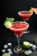 Strawberry Margarita or Daiquiri Сocktail