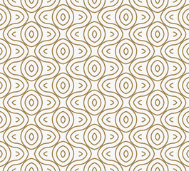Modern Luxury geometrical ornaments with lines seamless patterns background