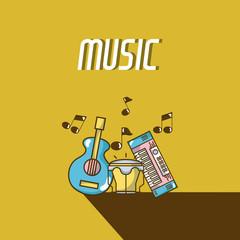 Moderm music equipment