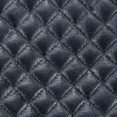 black leather texture colose-up with linear stiches