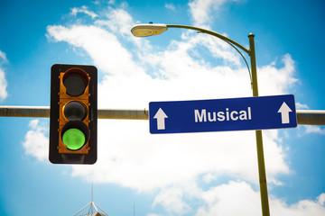 Schild 291 - Musical