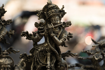 Bronze Krishna