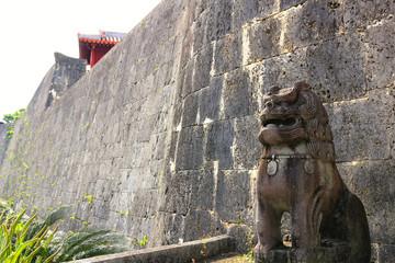 城を守る獅子