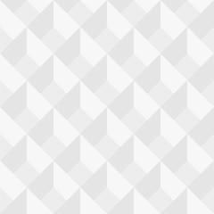 Vector seamless geometric pattern - minimal design. White decorative texture