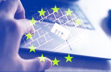 EU - BANNER (Digitalismus und Datenschutz)
