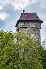 the tower of fortress Sponeck Germany