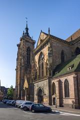 the beautiful church of Colmar France
