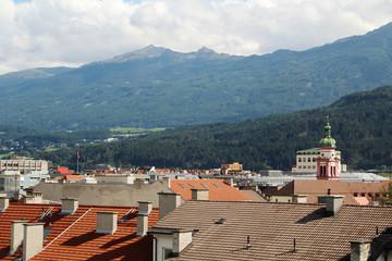 A panoramic view of Innsbruck, Austria
