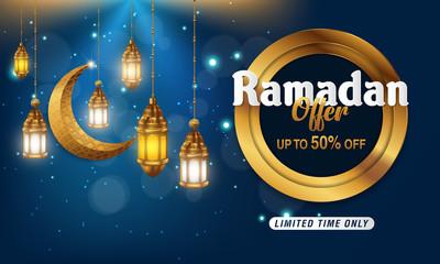 Ramadan Kareem vector sale. Banner, Discount, label, Greeting card, of Ramadan Kareem