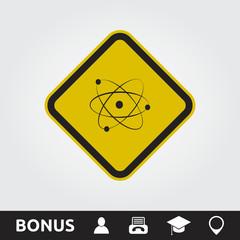 Atom Square Sign