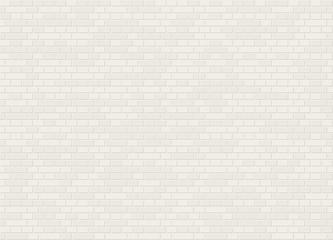Vector seamless dutch bond white brick wall texture