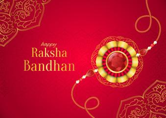 Raksha Bandhan vector background