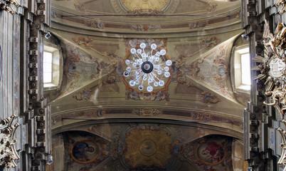 Collegiata di San Gaudenzio church in Varallo Sesia, Italy