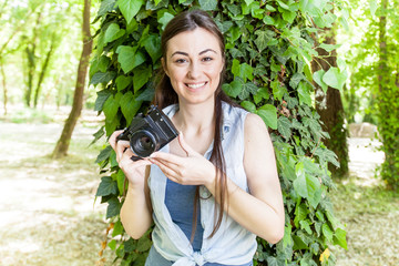 Young Woman Amateur Photographer