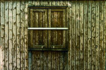 Fenster Holzschuppen