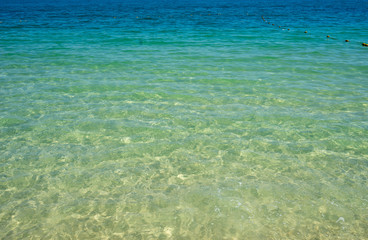 empty clear seascape background