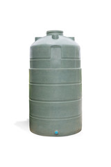 Plastic Tank,isolated on white background with clipping path.