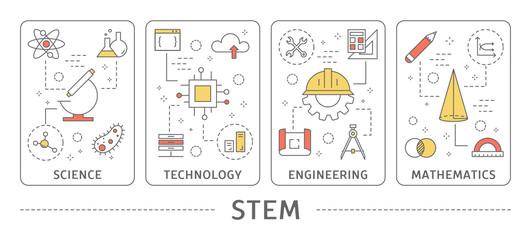 STEM concept illustration.