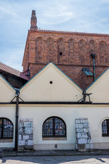 La old Synagogue dans le quartier Juif de Cracovie