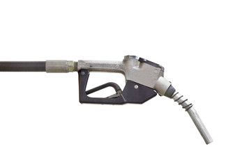 Head for the fuel pump isolated. Clipping path