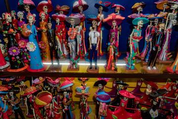 Mexican dead statuette figure statue