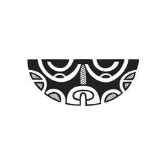 polynesian tattoo indigenous primitive art.
