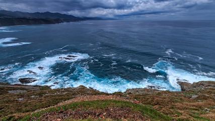 Foto op Plexiglas Kust Waves of Asturias