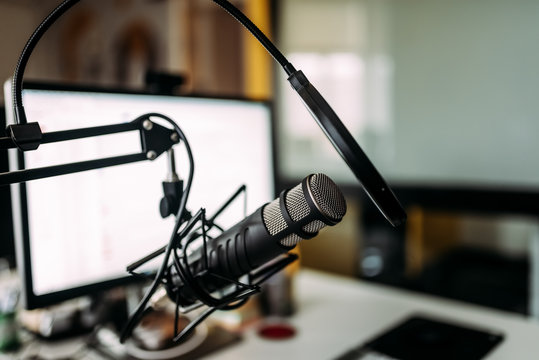 Podcasting concept