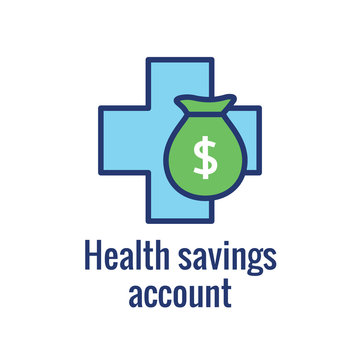 Medical Tax Savings - Health savings account or flexible spending account has HSA, FSA, tax-sheltered savings