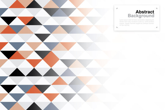 Abstract geometric pattern background for template design. Vector illustration.