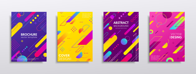 Covers with geometric pattern