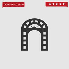 gate vector icon