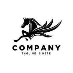 flying pegasus jump logo
