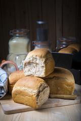 Pan de molde con semillas casero y artesanal