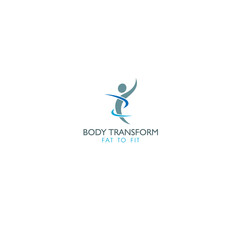 best original logo and designs concept inspiration for body fit transformation