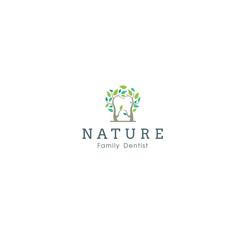 leaf dentist logo