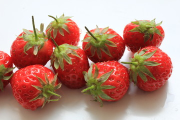 Big fresh strawberries
