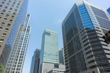 東京 大手町の高層ビル群