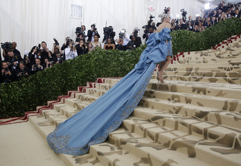 "The Met Gala 2018 ""Heavenly Bodies: Fashion and the Catholic Imagination"""