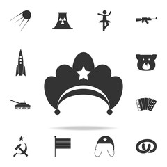 diadem icon. Detailed set of Russian culture icons. Premium graphic design. One of the collection icons for websites, web design, mobile app