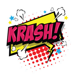 krash! Comic Speech Bubble