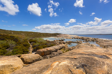 Heritage Trail at Two Peoples Bay, walking trail through bushland in Albany, Australia.