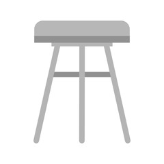 Stool, chair, wooden
