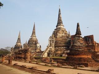Historic Building ayutaya thai