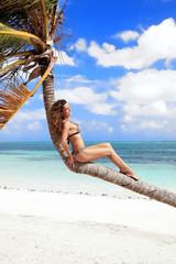Enjoying tropical Paradise, Cayo Guillermo, Cuba