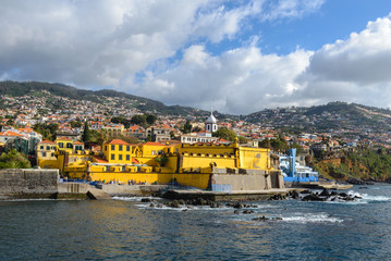 Castle of Sao Tiago in Funchal, Madeira, Portugal